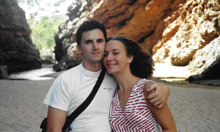 Valentino and Carly Giannoni Living in Alice Springs 2002