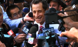 Anthony Weiner, featured in a captivating documentary.