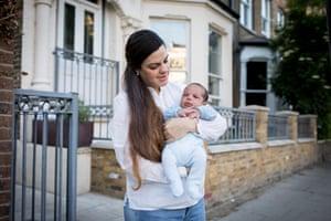 Raquel Ruiz Tognetti et bébé