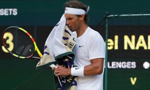 Rafael Nadal roared through the second set before Roger Federer took the match away from him in the third and fourth sets.