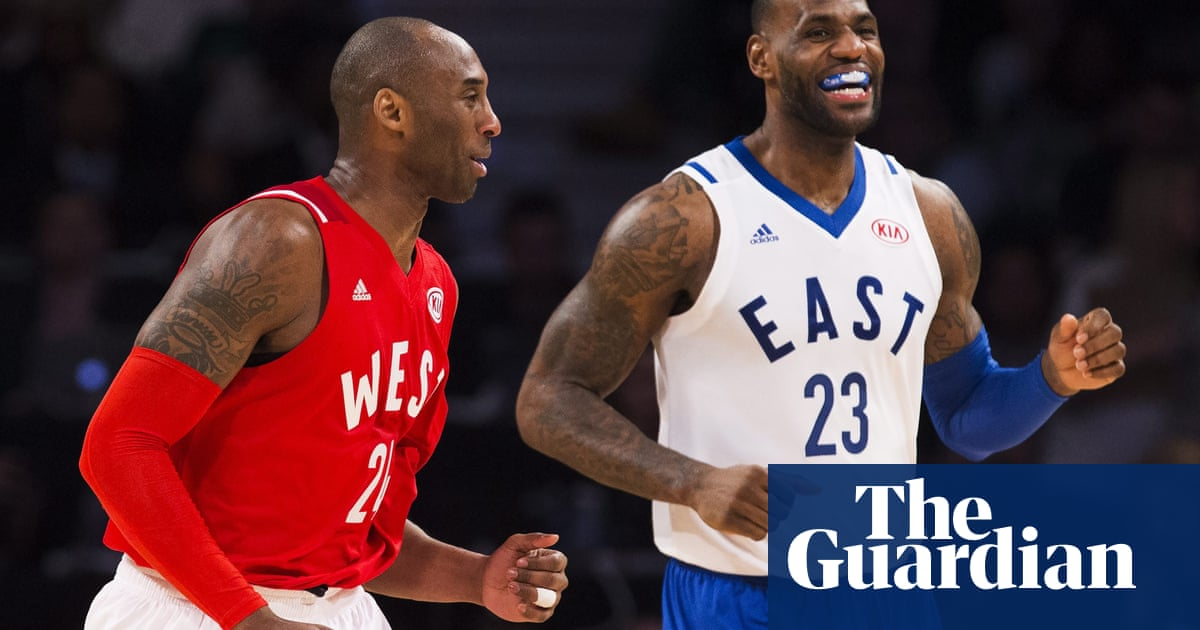 e29b13db7a9b Kobe Bryant plays last all-star game as West overcome East in record breaker