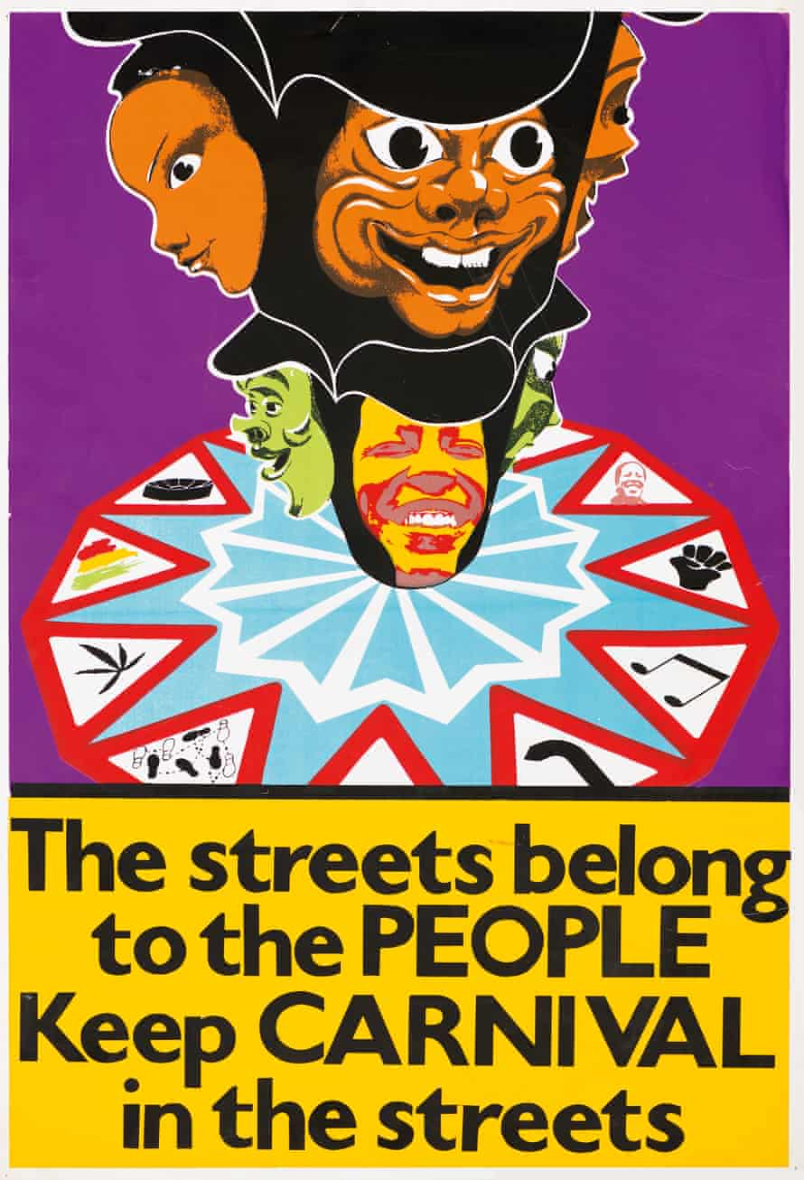 The Streets Belong to the People – Keep Carnival in the Streets poster, 1976, John Phillips