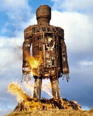 The Wicker Man (1973). Bronco McLoughlin doubled for Edward Woodward's puritanical Christian police officer being burned alive in the giant wicker structure for the final scene.