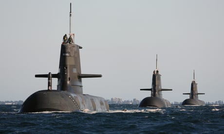Crew shortage could leave Australia's new submarines high and dry – report