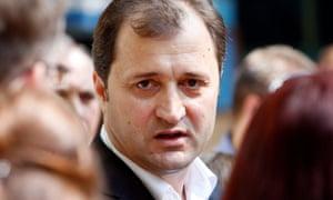 Vladimir Filat, Vlad Luca Filat's father, in 2009.