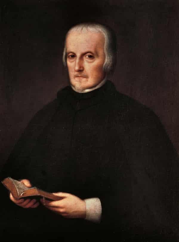 Portrait of 17th-century dramatist Pedro Calderón de la Barca.