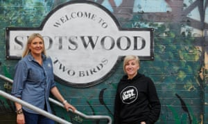 Danielle Allen and Jayne Lewis, co-owners of Melbourne-based Two Birds Brewing