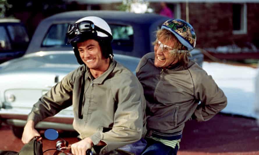 Jim Carrey and Jeff Daniels in Dumb and Dumber.