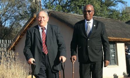 Denis Goldberg and Andrew Mlangeni