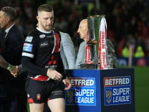 Jackson Hastings helped Salford to the Grand Final, but has left for Wigan.
