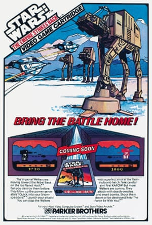 Parker Brothers, 1982 Star Wars AtAt advert from the book Toys: 100 Years of All-American Toy Ads (£30) by Jim Heimann and Steven Heller is published by Taschen.