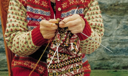 Knitting holiday Shetland