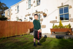 Billy Taylor-Rains, aged 7, a pupil at Blackwater Community Primary School in Cornwall.