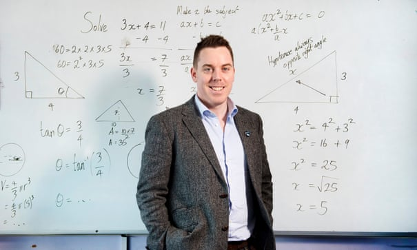 dbc9082afabbf7 Meet the internet maths guru who could become the next million-dollar  teacher | Education | The Guardian