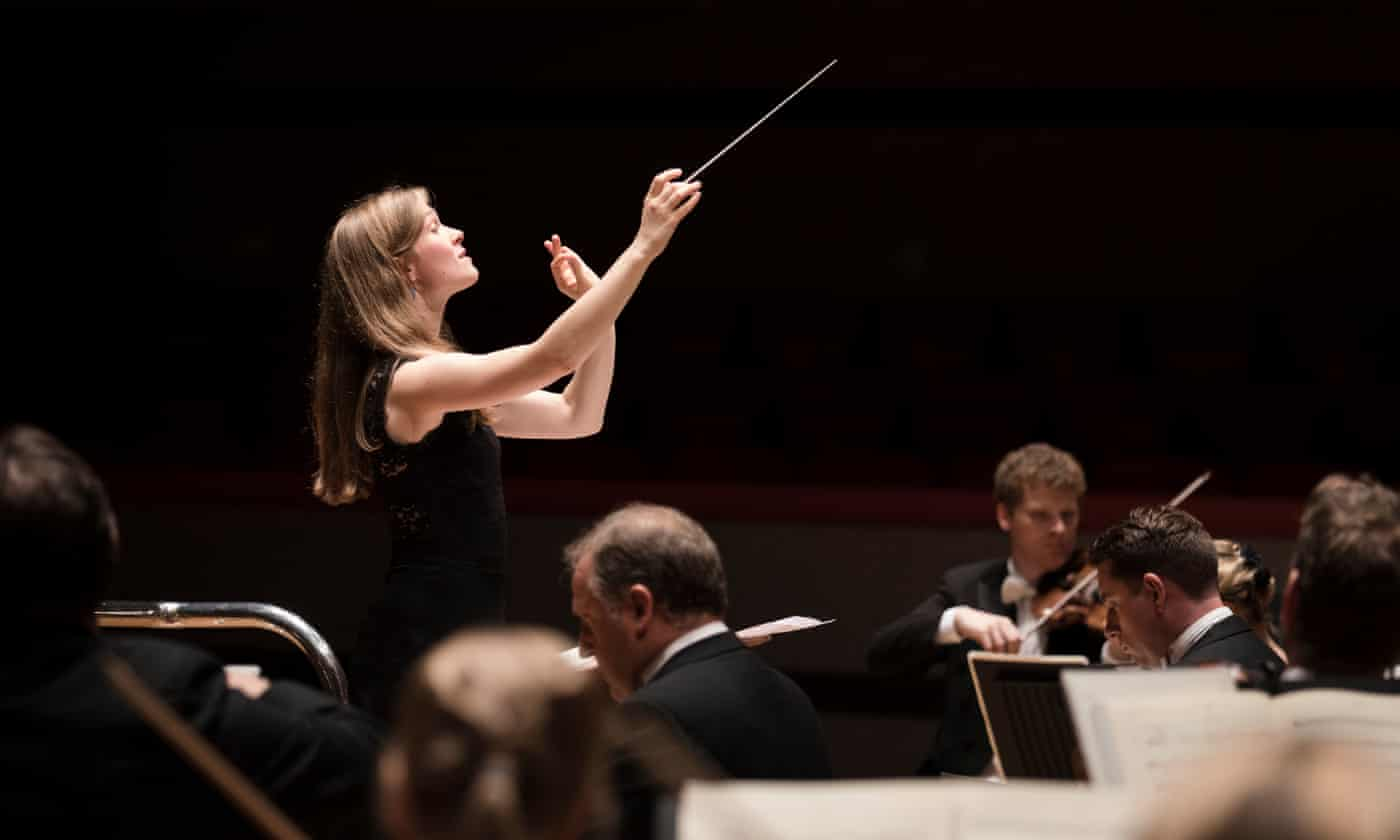 The joys of being a female conductor