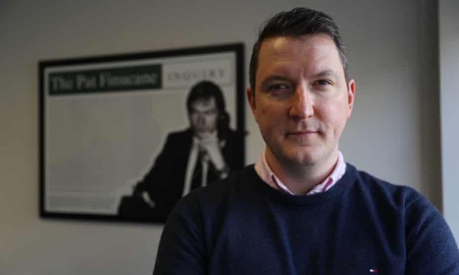 John Finucane, a Sinn Féin MP for North Belfast and Patrick Finucane's son