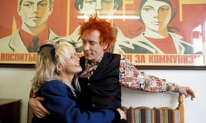 'She will never forget me, and I will never forget her': John Lydon with his wife, Nora, in 1986.