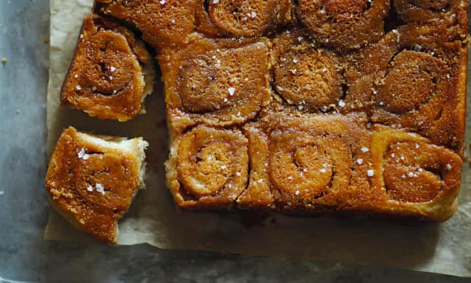 Steffi Knowles-Dellner's Swedish-style sticky buns.