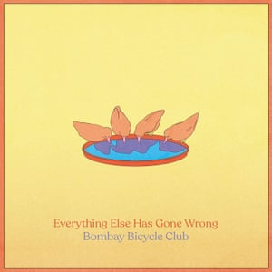Bombay Bicycle Club: Everything Else has Gone Wrong album art work.