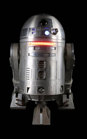 A light-up remote control R2-BHD droid from Gareth Edwards' Rogue One: A Star Wars Story. Estimate: £60,000 - £80,000