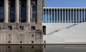 James Simon Gallery by David Chipperfield Architects, adjoining the Pergamon on Museum Island, Berlin.