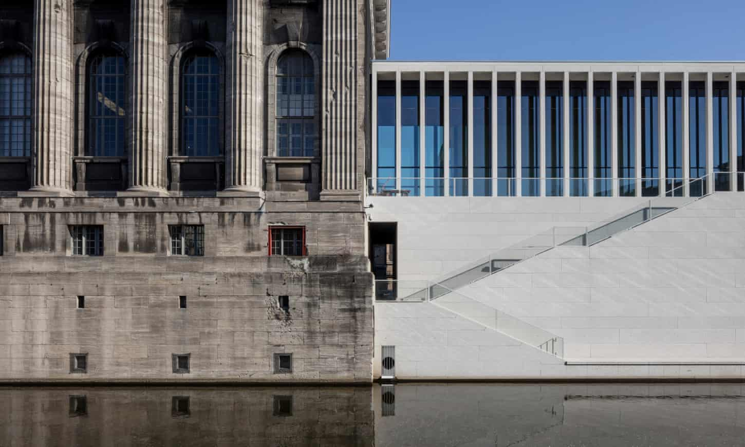 David Chipperfield's Berlin temple: 'Like ascending to the realm of the gods'