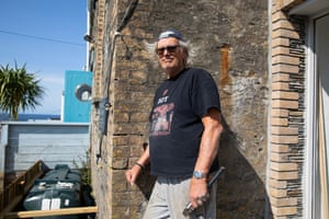 Roy Speakman, a carpenter who has worked as part of the Doc Martin crew.