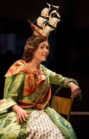 Suranne Jones in the title role of Orlando by Virginia Woolf, adapted by Sarah Ruhl