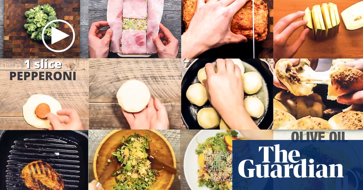 Hands and pans: the boiled-down recipe videos cooking up a storm