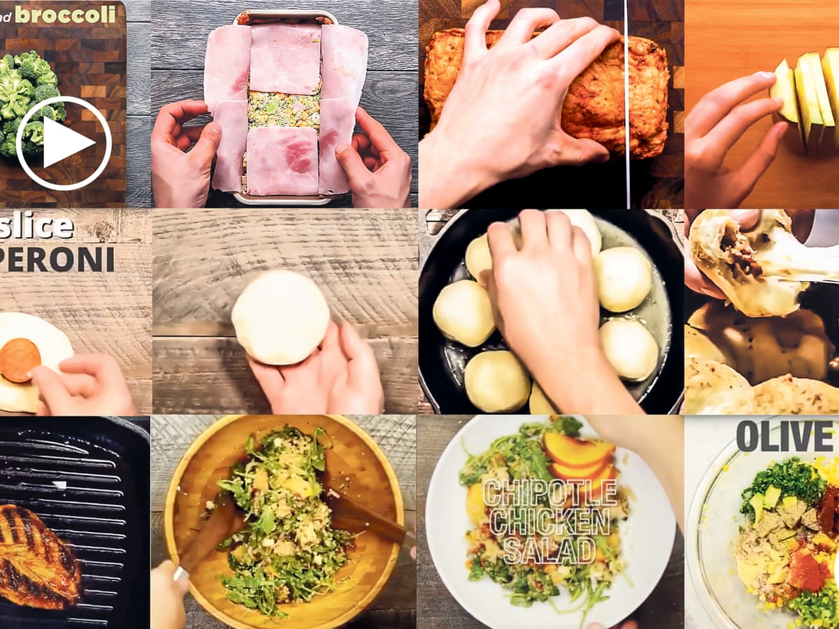 Hands and pans the boiled down recipe videos cooking up a storm ...