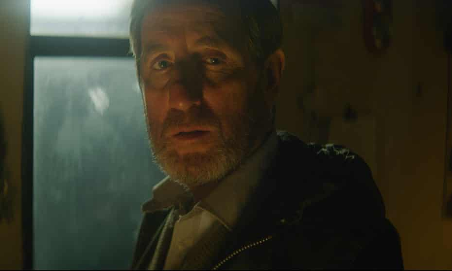 Forever frowning … Michael Smiley in The Toll.