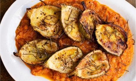 Nigel Slater's roast vegetables recipes