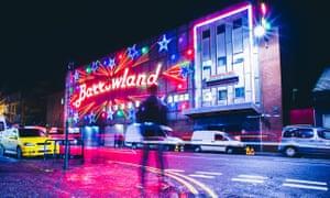 Barrowland music venue in Glasgow by night.FW4H89 Barrowland music venue in Glasgow by night.
