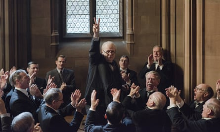 'The resistance he put up against bigotry and hate is vital' … Gary Oldman as Winston Churchill in Darkest Hour.