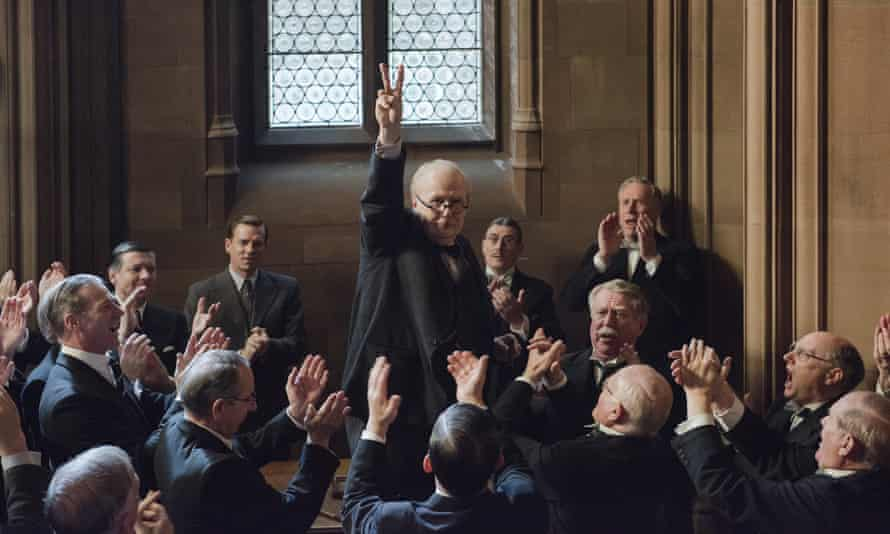 'It's interesting for a film to remind us that appeasement as an issue did not vanish the moment that Winston Churchill took over as Prime Minister' ... Darkest Hour.
