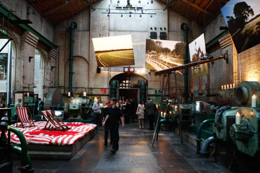 The .Cent and Fabris Lane Triptych Party, held at the Wapping Project in 2009.
