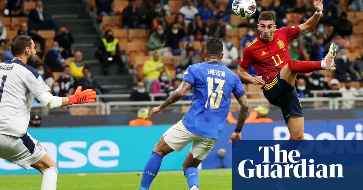 Ferran Torres double sweeps Spain past Italy and into Nations League final