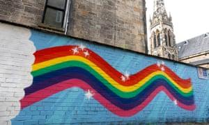 Street art in Glasgow.