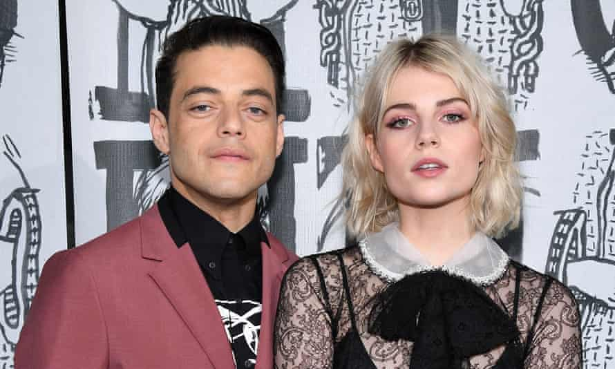 'In two weeks the billboards will change. This business is a revolving door': Malek has been linked with Bohemian Rhapsody co-star Lucy Boynton.