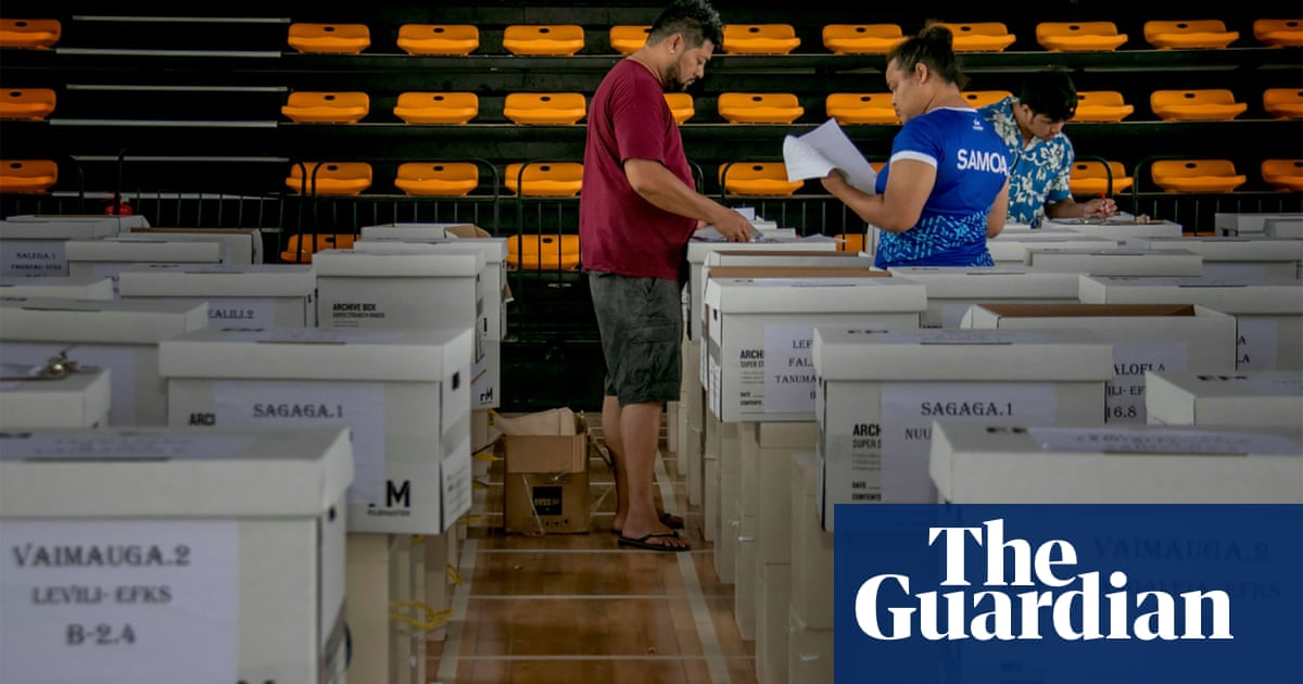 Samoa's ruling party faces strongest election challenge in 20 years