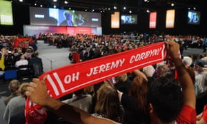 Jeremy Corbyn delivers his speech to Labour conference, 26 September