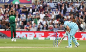 England's Jos Buttler looks on as he is caught by Pakistan's Wahab Riaz for 103.