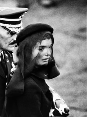 Jackie Kennedy at her husbands funeral, 1963,