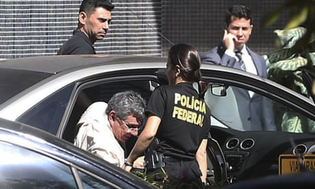 Brazil police arrest close aide of president in World Cup scheme
