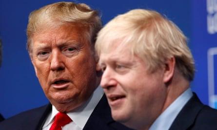 Trump and Boris