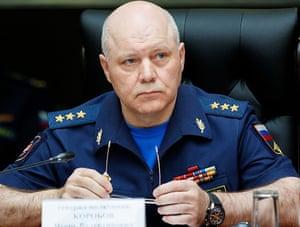 GRU commander Igor Korobov in 2017.