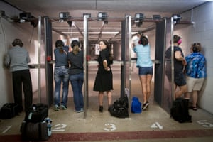 A weekly women-only shooting session.