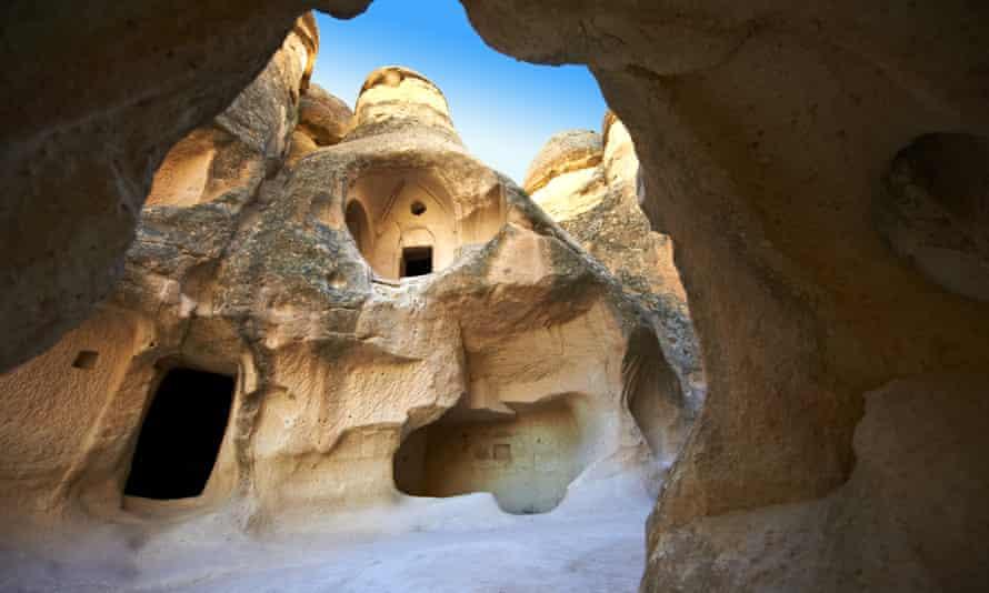 Hidden city … Cappadocia, Turkey.