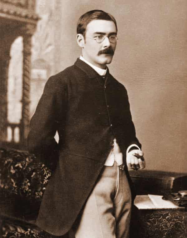 Rudyard Kipling, 'that flatulent voice of Victorian imperialism would wax eloquent on the noble duty to bring law to those without it'. Photograph: Culture Club/Getty Images