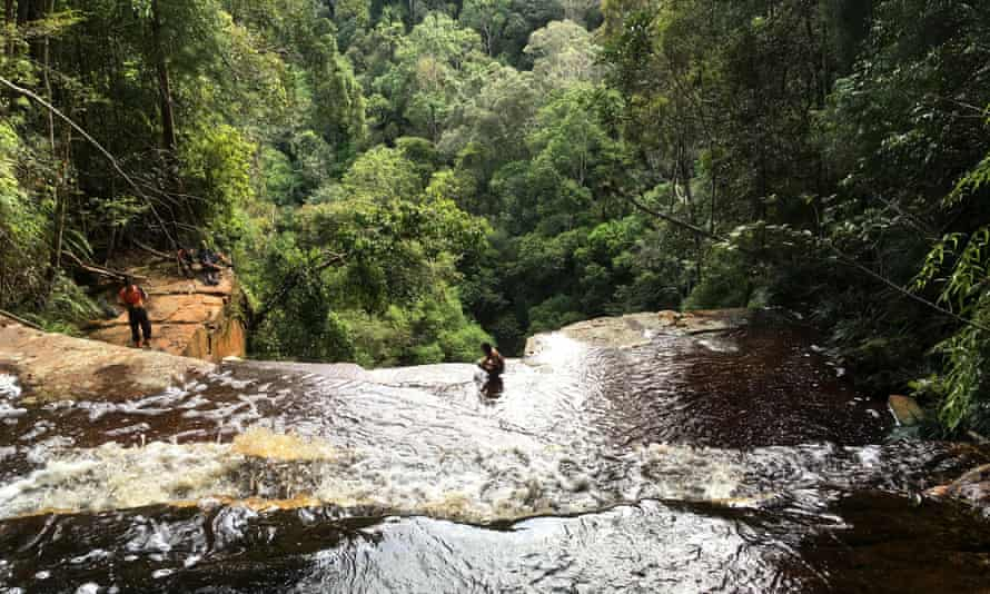 Giluk Falls, Maliau Basin, Malaysia